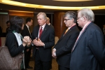 Sharing a conversation - President Cecil Rorabeck, Paul Gamble, director of International Outreach and RCI, and myself