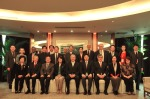 Group photo with the Canadian ambassador to China, Mr. Guy Saint-Jacques (centre)