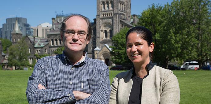 Dr. Jason Pennington and Dr. Lisa Richardson